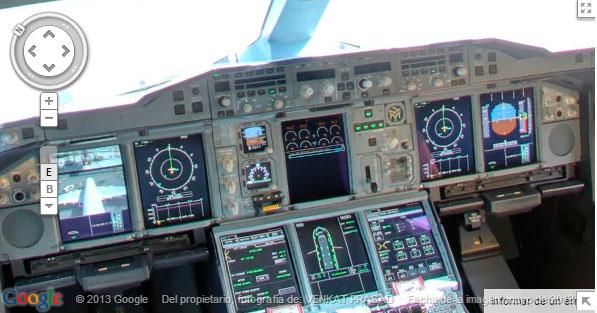 Street View se cuela en un Airbus A-380