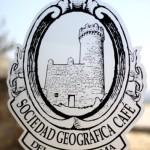 Logo de Sociedad Geografica café. tomada por Jorge Arimany, su Fotógrafo de Confianza (Google Fotos de Negocios)