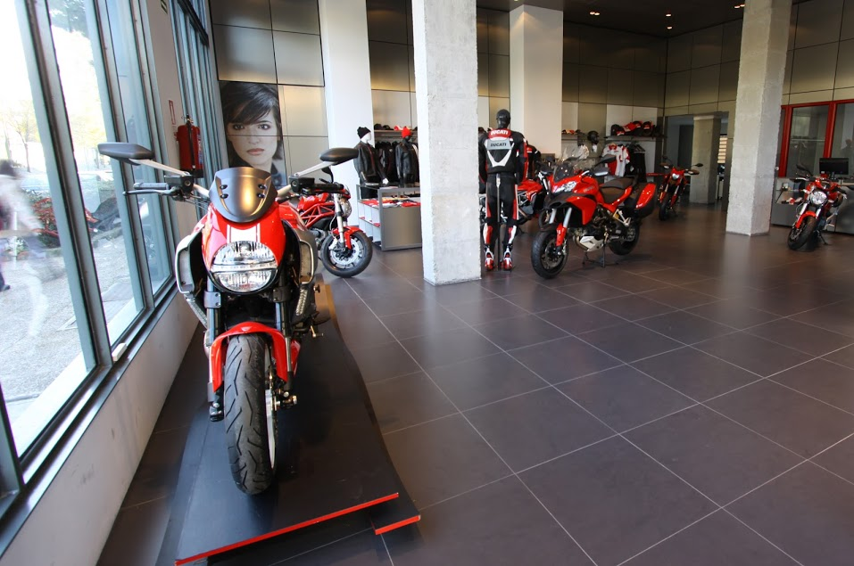 DucatiMoncloaInterior